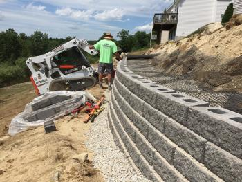 NH MA Retaining Walls Landscape Construction