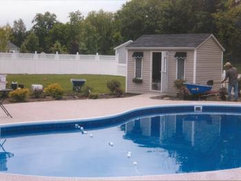 NH MA Pool Patio Sod Landscaping