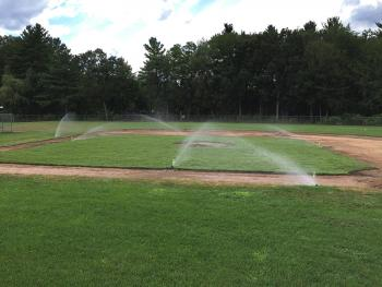 NH MA Ballfield Construction & Sod Installation