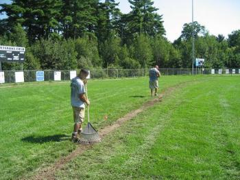NH MA Ballfield Irrigation System Install