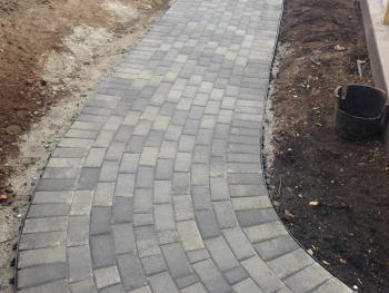 NH MA Firepit Paver Walk Walkway Landscaping