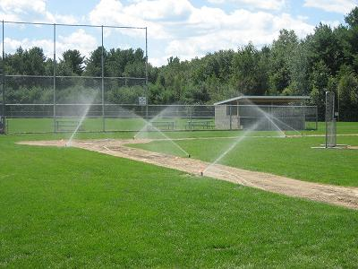NH MA Michele Park Ballfield Irrigation System Install