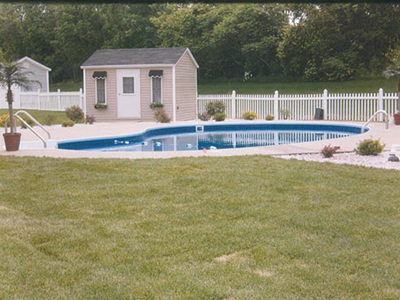NH MA Pool Patio Sod Stone Mulch