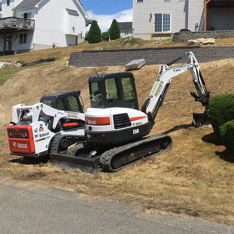 Salem, NH Landscape Construction Light Excavating, Retaining Walls, Walkways & Patios, Land clearing/Leveling
