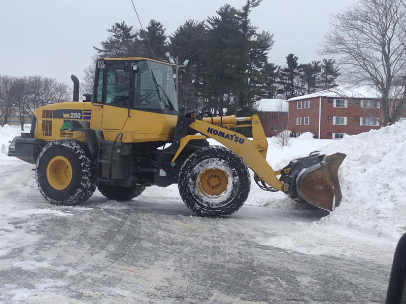 Salem NH MA Snow Plowing Snow Removal Salting